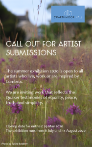 Call out for artist submissions